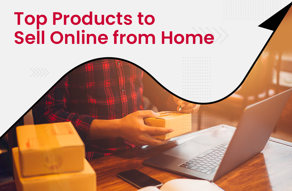 selling products online from home