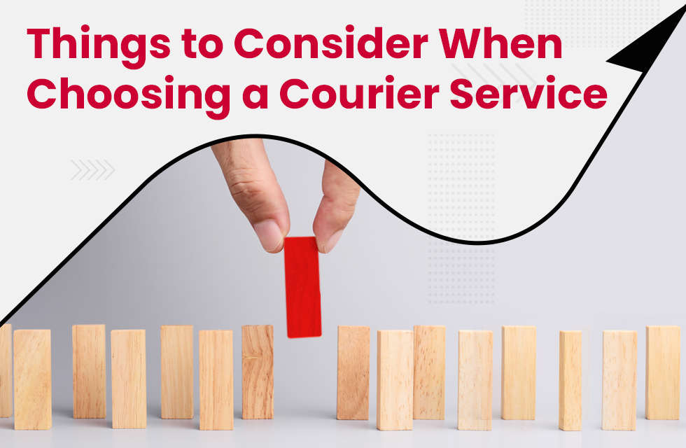Top 10 Things to consider when choosing an online courier service